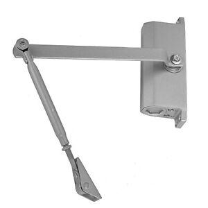 Hydraulic Damper Door Closer Aluminum Alloy Adjust Auto Door Hardware Accessory