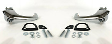 Outside Exterior Door Handles w/ Pads & Hardware For 1964-1966 Ford Mustang