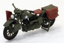 sz 1/18 US Army Courier Harley Davidson 1942 WLA Liberator Motorcycle Custom