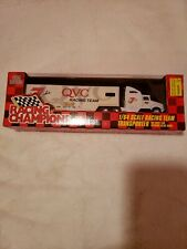 1:64 Racing Champions #7 QVC Transporter Hauler Truck Geoff Bodine