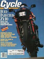 1989 December Cycle - Vintage Motorcycle Magazine