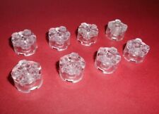 LEGO® 5x Fliese Gleiter 2 x 2 rund tr 09 klar 2654  4199303 4278412 NEUWARE