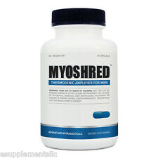 MYOSHRED - Extreme Muscle Builder For Men - Fat Burner Testosterone Booster