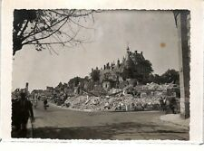 "GIEN PHOTO GF "" BOMBARDEMENTS / DESTRUCTION DE LA VILLE "" 1940"