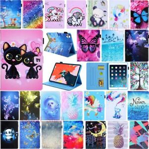 For iPad 7th 6th 5th Generation/Mini/Air Magnetic Flip Stand Leather Case Cover