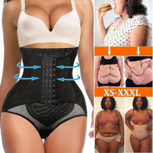 Damen Miederslip Figurformende Höschen Bauchweg Unterhose Shapewear Butt Lifter