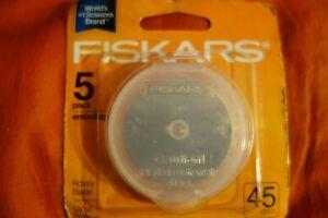 Fiskars 45mm Rotary Cutter 5 Replacement Blades