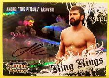ANDREI ARLOVSKI 2008 Donruss Americana II Ring Kings Autograph Card #122/500