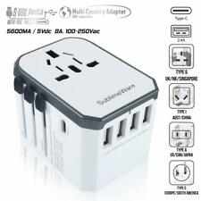 Travel Adapter Universal International Power Usb Power Outlet Plug Charger Cf