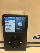 Apple iPod classic 7th Generation Black (120 GB)mb565ll Over 10k Songs