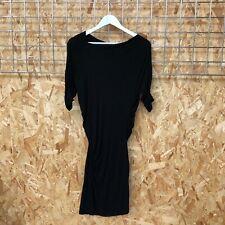 Vivienne Westwood Anglomania black asymmetric drape bodycon dress - XS 6- 8-10 ?