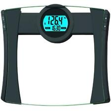 Bathroom Scale Digital Body Weight Calorie Intake Lcd Display Tempered Glass New