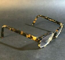 Warby Parker Brown Yellow Tortoise Cats Eye Eyeglasses FRAMES ONLY Sims 252 140