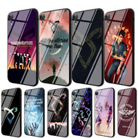 shadowhunters TPU Glass Case for iPhone 8 7 6 6S Plus 5 X XS 11 Pro Max XR Cover