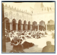 Egypte, Caire (القاهرة), Prieurs dans la cour intérieure du Mosquée Al-Azhar  Vi