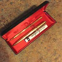 Vintage Parker 61 Mechanical Pencil, Gold Filled 12K USA Original Box