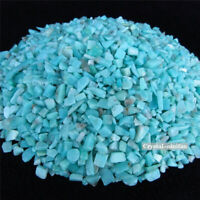 1/2lb Natural Amazonite Tumbled Quartz Crystal Bulk Stones Chips Reiki Healing