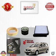 Mantenimiento Filtros + Aceite Dacia Logan 1.6 62KW 84CV de 2010- >