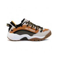 Tommy Hilfiger Tommy Jeans Heritage Sneaker Uomo EM0EM00374 0HG Sudan Brown Pumi