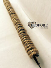 Rustic Wedding Reception Guest Book Signing Pen Decor Twine Wrapped Black Ball