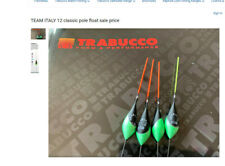 Fishing Floats  Pole Trabucco Team Italy 12 classic pattern Carbon stem