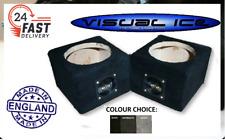 NEW upto 6.5 Speaker pod box mount co axial component van car audio sub PAIRS