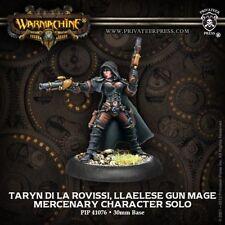 Warmachine: Mercenaries Taryn di la Rovissi, Llaelese Gun Mage PIP 41076 NEW