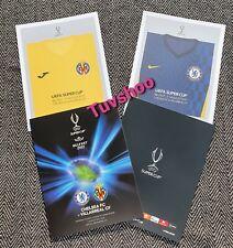 More details for uefa super cup programme 2021 chelsea v villarreal 11/8/ 21 belfast post now!!!