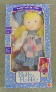 Country Fun Holly Hobbie Mattel # 1600 from 1989 new in box