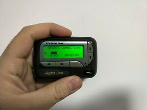 Unication Alpha Gold / Motorola Advisor Elite pager beeper collectors movie prop