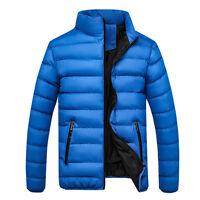 Vogue Stylish Man Ultralight Stand Collar Duck Down Parka Jacket Coat