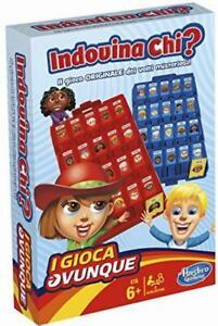 Hasbro Gaming - Indovina Chi? Travel Gioco in Scatola B1204103Hasbro Gaming - In