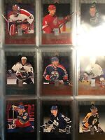 1995-96 Donruss Elite Set 1-110 NM With Gretzky Is On The Blues