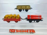 BY812-1# 3x Hornby Spur 0 Güterwagen: LMS 12530 + Weinfasswagen etc gebraucht