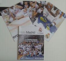 Revista Hala Madrid 54 Real mag basketball team Copa Rey 2015 poster no top NBA