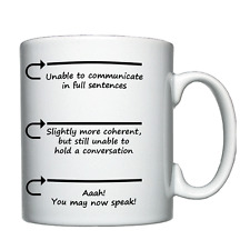 You may now speak - Personalised Mug / Cup