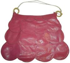 Spring Beauty BUBBLE GUM PINK Unique Texture Satchel Handbag Purse Flower petals