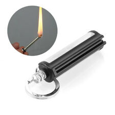 Helpful Survival Emergency Camping Fire Starter Flint Match Lighter Key Chain