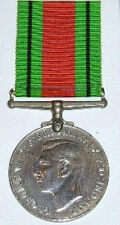 WW2 DEFENCE MEDAL, 100% GENUINE FULL SIZE, WITH FREE UK POSTAGE