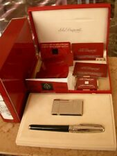 DUPONT ST PETERSBURG DUO SET: FOUNTAIN PEN AND LIGHTER