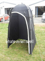 PORTABLE CAMPING TOILET / SHOWER TENT for utility changing enclosure or loo loo