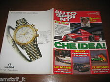 AUTOSPRINT 1993/25=24 ORE LE MANS=RALLY D'ABRUZZO PIANEZZOLA=ADDIO JAMES HUNT=