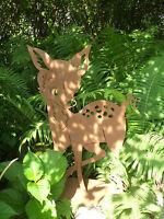 Edelrost Reh klein Bambi Rost Eisen Metall Gartendeko Dekoration Tiere  Deko Fer