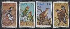 BIRDS - SOUTH WEST AFRICA 1974 RARE BIRDS SET MNH SG.260-3 (REF. B5)