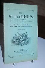 JEUX GYMNASTIQUES AVEC CHANTS pour les enfants des salles d'asile 1908