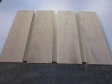 4 Eichenplatten in 23x150x490mm 4-seitig gehobelt Platten Eichenbretter Eiche