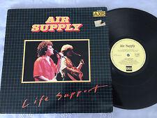 AIR SUPPLY LIFE SUPPORT RARE ORIG 1979 AXIS AUSTRALIAN RELEASE VINYL LP