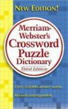 Merriam-webster's Crossword Puzzle Dictionary - Acceptable - Merriam-Webste