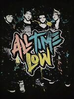 SMALL All Time Low Spring Fever Tour 2013 T-shirt Punk Rock Retro