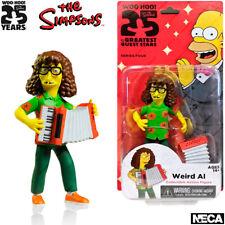 "NECA The Simpsons Series 4, Weird Al, Action Figurine, 25th Anniversary, 5.1"""